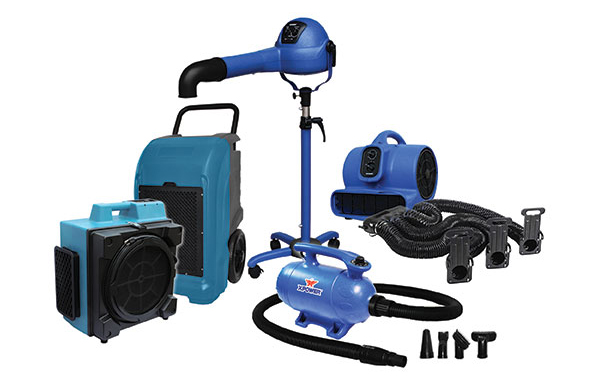 Pet Force Dryers, Stand Dryers and Air Purification Systems