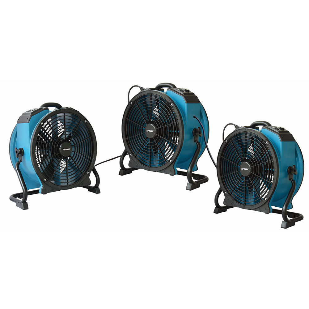 XPOWER X-47ATR Professional Sealed Motor Axial Fan (1/3 HP
