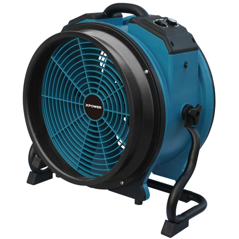 16DHK Connected to Axial Fan